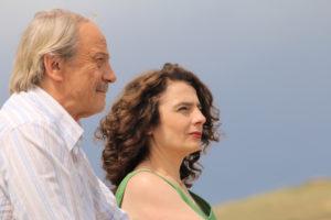 Patrick Chesnais and Arsinee Khanjian star in Lost in Armenia. Photo: Arthur Arzoyan