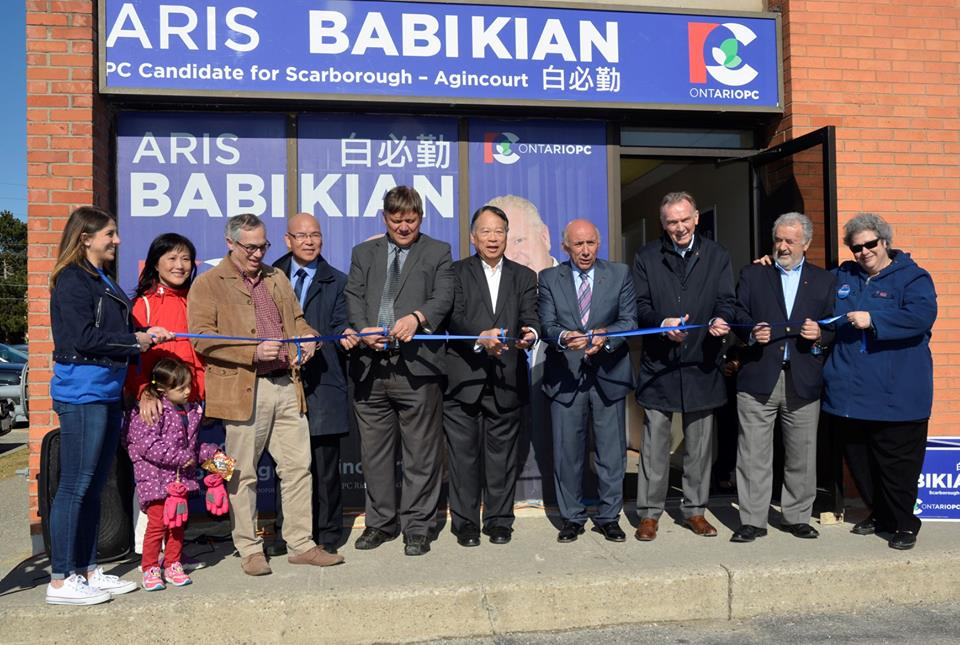 Aris Babikian Running for the Conservative Seat in the Scarborough