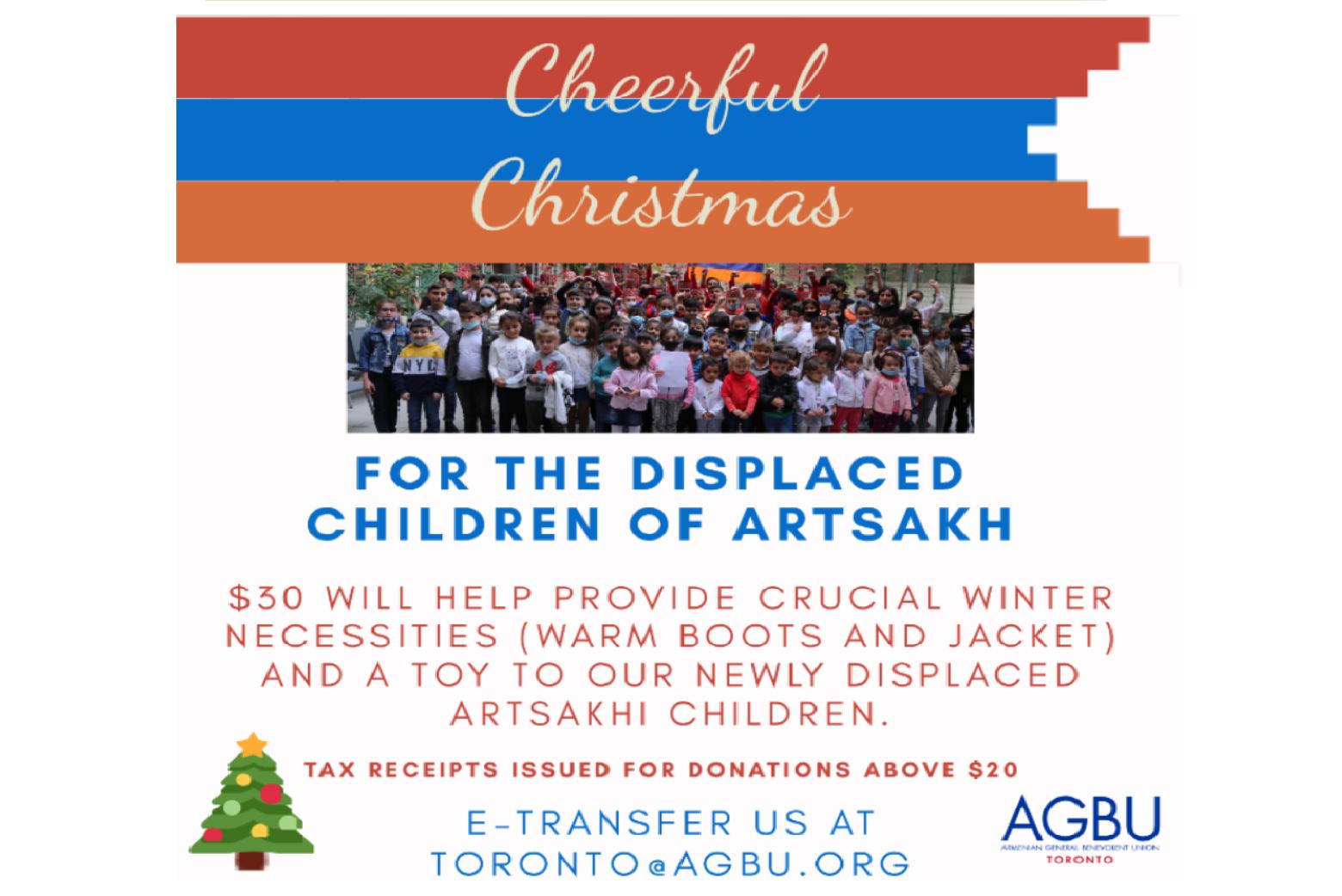 AGBU-For Artsakh